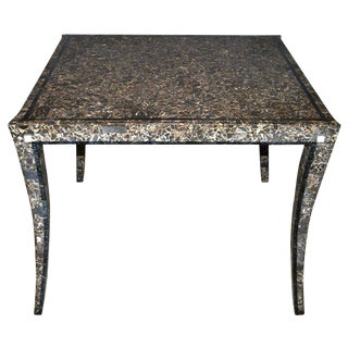 Maitland Smith Tessellated Marble Center Table