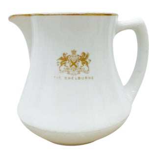 Antique Porcelain Pitcher From the Shelburne Hotel