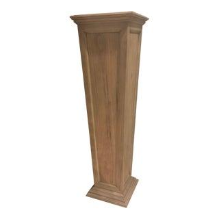 Henredon Larrabee Tapered Weathered Pedestal
