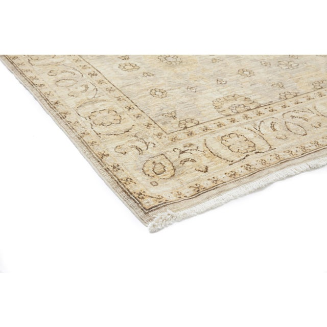 """New Oushak Hand Knotted Area Rug - 6'2"""" x 8'6"""" - Image 2 of 3"""