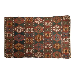 """Antique Shahsavan Kilim Carpet - 6'8"""" x 10'2"""""""