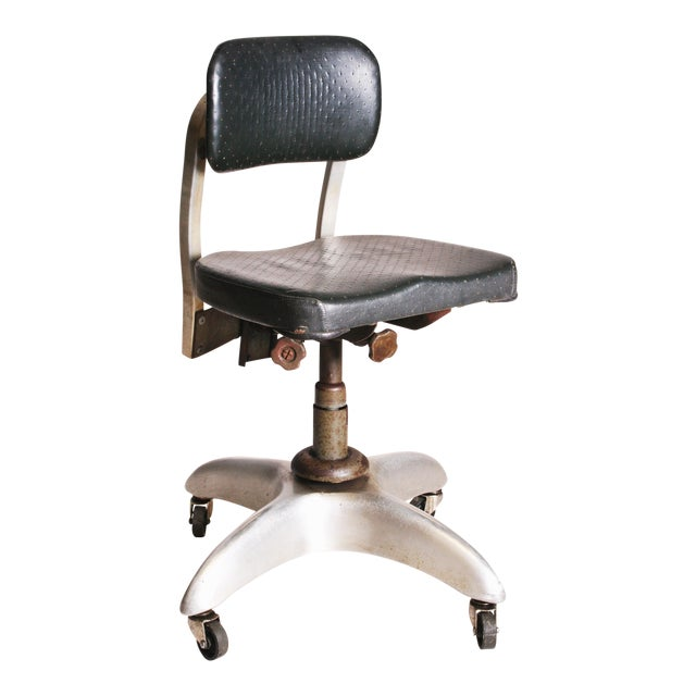 Vintage Industrial Swivel Office Chair by Goodform - Image 1 of 11