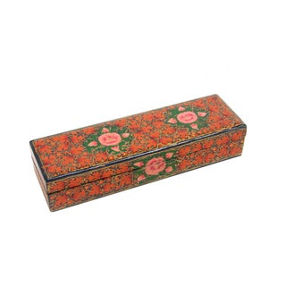 Hand Painted Kashmiri Pencil Box