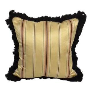 Vintage Scalamandre Silk Fabric Pillow