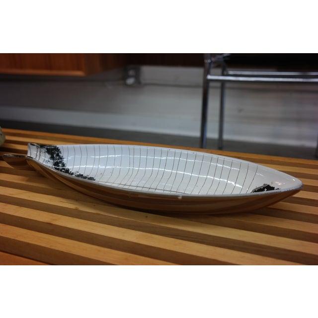 Large Tackett Ceramic Fish Platter - Image 8 of 8