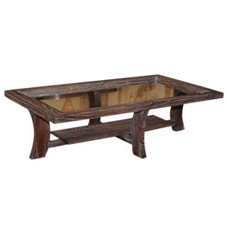 Paul Frankl Oak Coffee Table