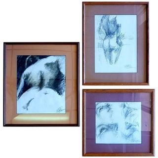 Ed Rosen Original Sketches - Set of 3