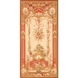 """Pasargad Tapestry Silk & Wool Rug - 3'5"""" X 7'"""