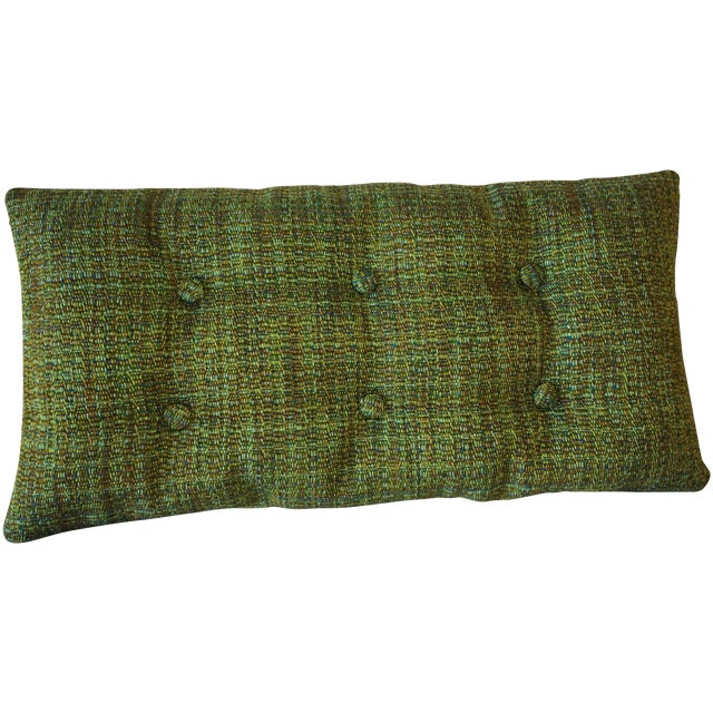 Mid-Century Modern Tufted Pillow - Image 1 of 2