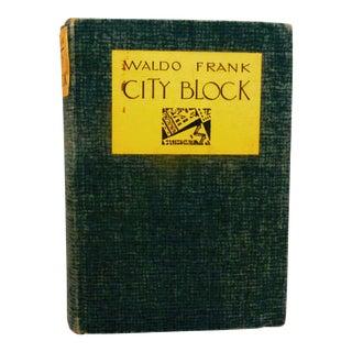 City Block, Waldo Frank, 1932