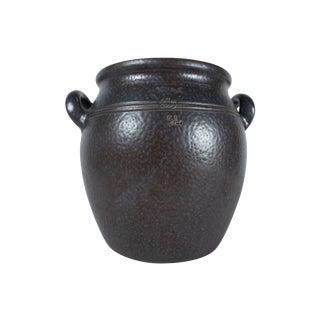 Hoganas Sweden Black Stoneware 5 Liter Jug