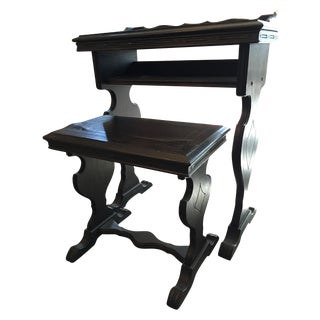 Vintage Writing Desk and Nesting Bench