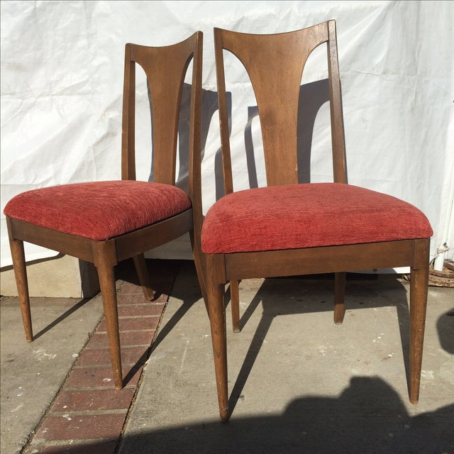 Mid-Century Danish Style Dining Chairs - A Pair