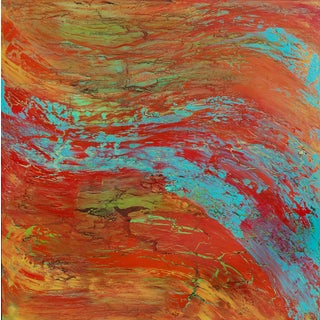 Original Contemporary Abstract Painting by Alicia Dunn
