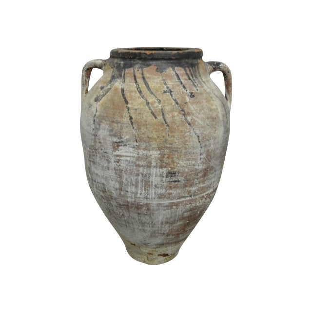 Amphora Greek Antique Pottery - Image 1 of 4
