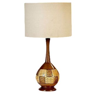 1960s Mosaic Style Table Lamp