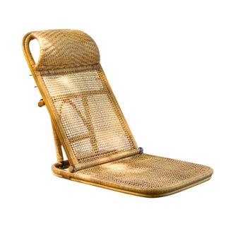 Vintage Rattan Beach Chair