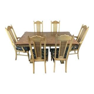 Vintage Italian Renaissance Style Dining Set