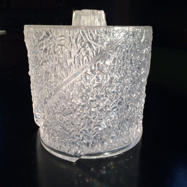 Image of Clear Vintage Ice Bucket