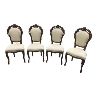 Rococo Style Dining Chairs - Set of 4