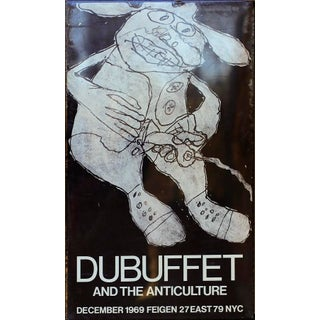 Dubuffet and the Anticulture 1969 Poster