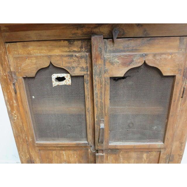 Antique Primitive China Cabinet Cupboard - Image 4 of 8