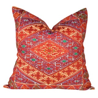 Ravi Tribal Swati Brocade Pillow