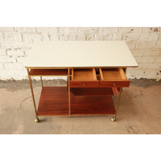 Paul McCobb for Calvin Irwin Collection Bar Cart - Image 6 of 11