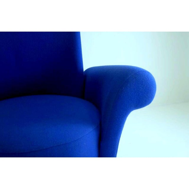 Modern Italian High Back Chairs - A Pair - Image 6 of 8