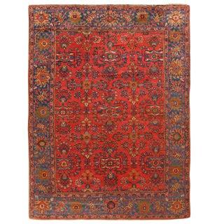 Antique Persian Lilihan Carpet