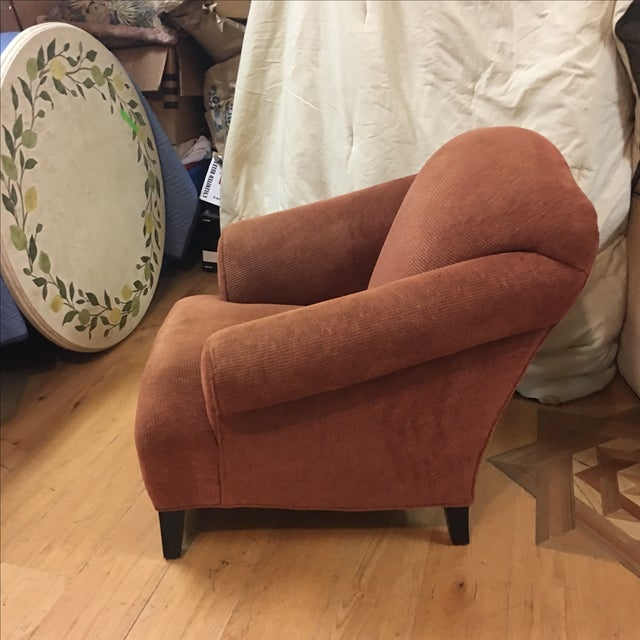 Vintage Style Upholstered Armchair - Image 3 of 5