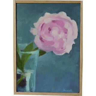 """""""Peony"""" Original Painting by Anne Carrozza Remick"""