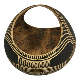 Decorative Gourd Art Basket