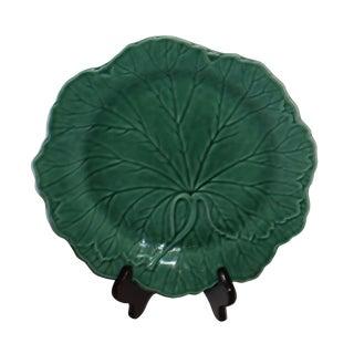Wedgwood Green Majolica Plate