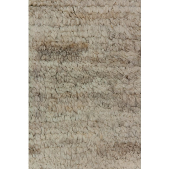 "Moroccan Hand Knotted Area Rug - 7'9"" X 9'9"" - Image 3 of 3"