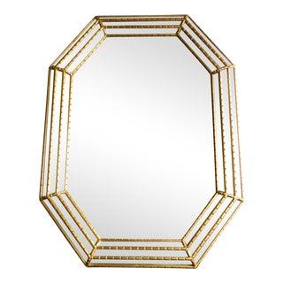 Italian Octagon Shaped Mirror