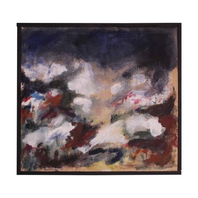 1966 Ken Harkias Abstract Acrylic Painting - Image 1 of 4