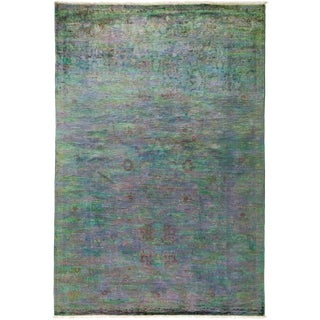 "Vibrance Hand Knotted Area Rug - 5'0"" X 7'4"""