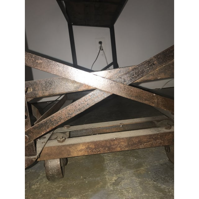 Image of Antique Industrial Cobblers Shoe Rack Shelving Unit