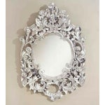Image of Silver Handcut Glass Mirror