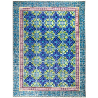 """Suzani Hand Knotted Area Rug - 9'1"""" X 12'1"""""""
