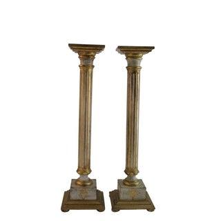 Italian Florentine Pedestal - Pair