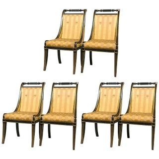 John Stuart Saber Leg Dining Chairs - Set of 6