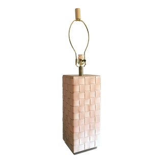 Currey & Company Bertrand Brown Leather Lamp