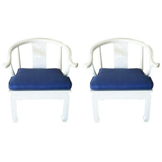 Chinese James Mont-Style Armchairs - A Pair