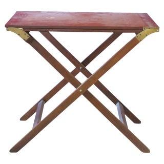 Baker Mahogany Butler's Convertible Buffet Table