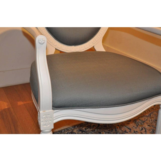 Safavieh Oval Back Chair - Image 3 of 5