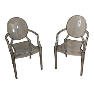 Philippe Starck Kartell Ghost Chairs- A Pair