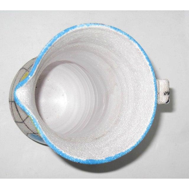 A. Londi Style Art Pottery Pitcher - Image 6 of 7