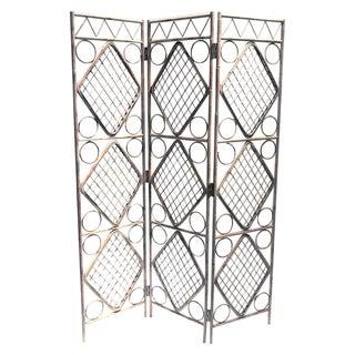 Bamboo Tri Folding Screen